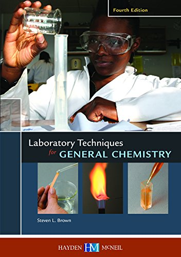 9780738044729: Laboratory Techniques for General Chemistry