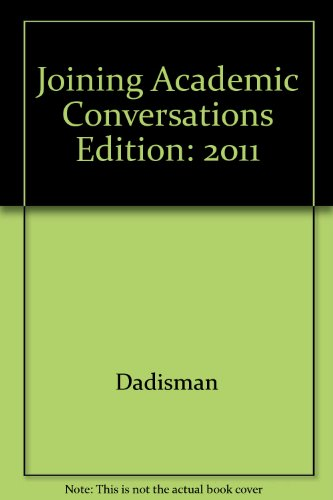 9780738045641: joining academic conversations (english 102)
