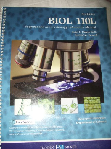 9780738048420: Biology 110 - Lab. Manual (Custom)