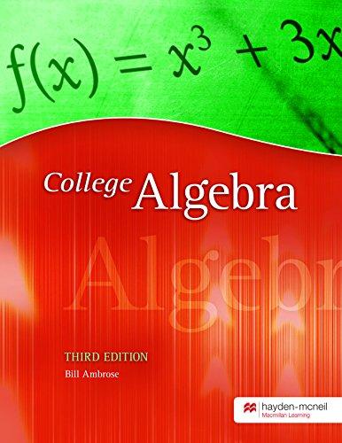 9780738049861: College Algebra