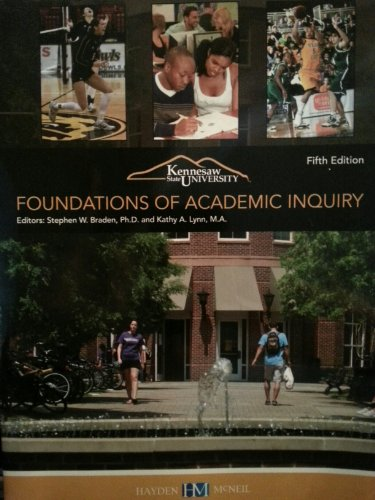 9780738051802: Foundations of Academic Inquiry