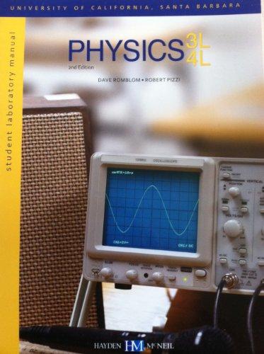 9780738051826: Physics 3L 4L Student Laboratory Manual University of California Santa Barbara