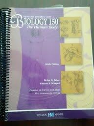 9780738052793: Biology 150 the Human Body