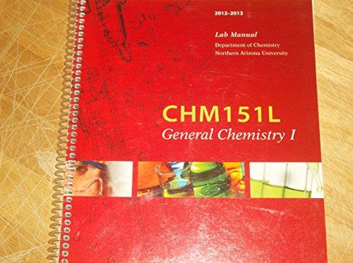 9780738053776: CHM 151 Lab Manual (Northern Arizona University)