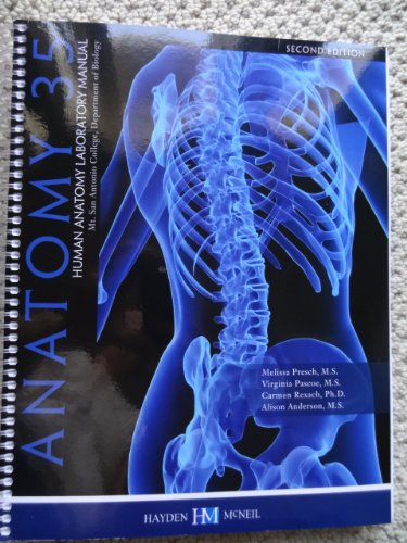 9780738054414: Anatomy 35 Lab Manual, 2nd Edition