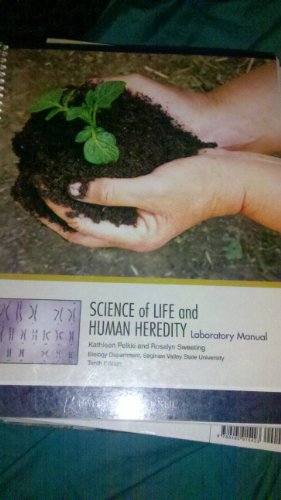 Science of Life and Human Heredity Laboratory Manual (Biology Department, Saginaw Valley State ...