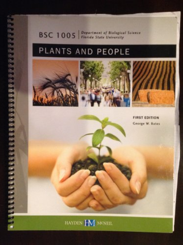 9780738055527: BSC 1005 Plants and People First Edition