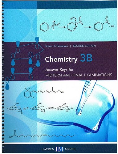 9780738057033: Chemistry 3B: Answer Keys for Midterm and Final Examinations (Second Edition)
