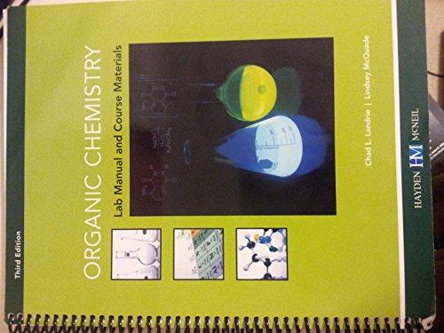 9780738057637: Organic Chemistry Lab Manual (CHEM 233)