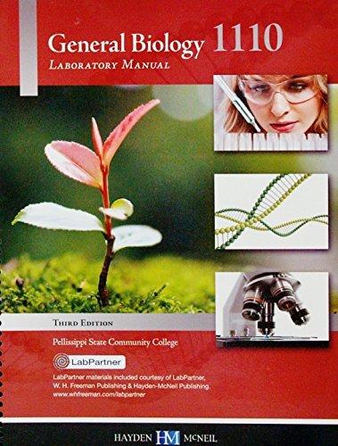 9780738060286: General Biology Laboratory Manual 1110