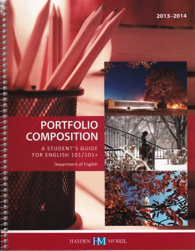 9780738061290: Portfolio Composition - A Student's Guide for English 101/101+ - Hayden McNeil