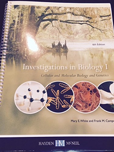 9780738062167: Investigations in Biology I
