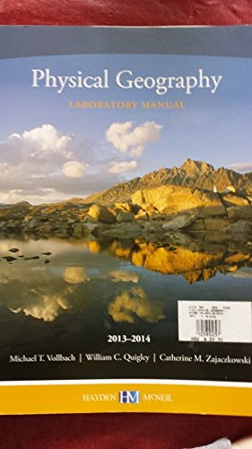 9780738063751: Physical Geography Laboratory Manual, 2013-2014