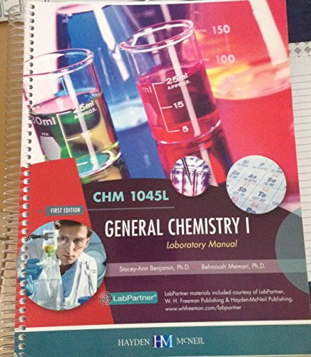 9780738066288: General Chemistry I Laboratory Manual