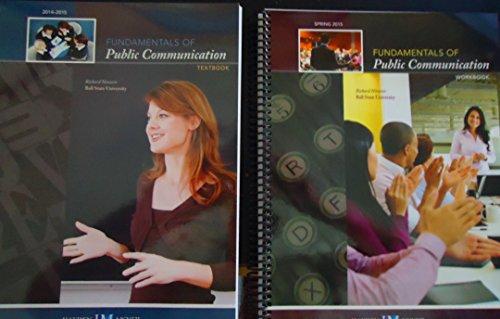 9780738066639: Fundamentals of Public Communication Textbook 2014-2015