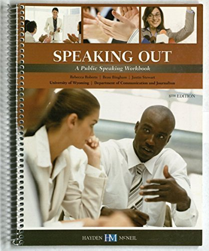 9780738067292: Speaking Out: a Public Speaking Workbook
