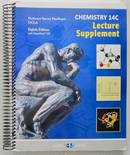9780738067995: Chemistry 14C Lecture Supplement: Eighth Edition (UCLA)