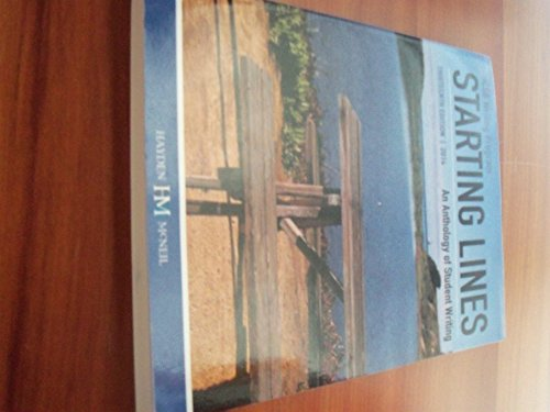 9780738068275: Starting Lines UCSB Writing Program 13th Edition