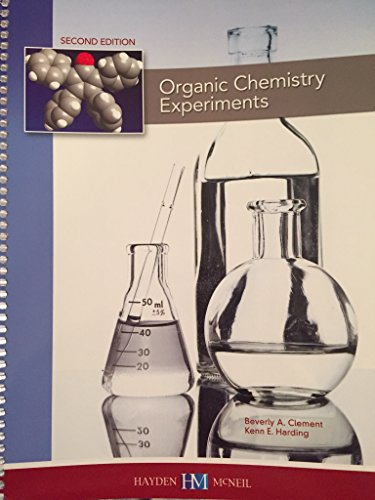 9780738068916: Organic Chemistry Experiments - AbeBooks - Beverly A