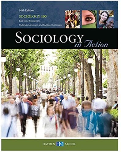 9780738069180: Sociology in Action 16th Edition by Mellisa Holtzman Melinda Messineo (2014-05-03)
