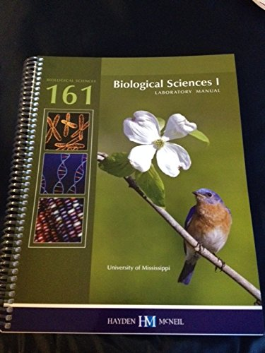 9780738069425: Biological Sciences 1 Laboratory Manual - Ole Miss