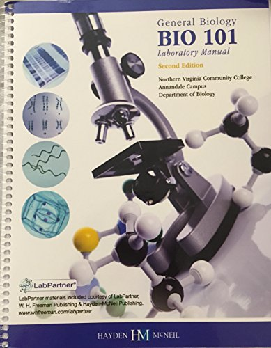 General Biology Laboratory Manual: Karen Bushaw-Newtom, Paul