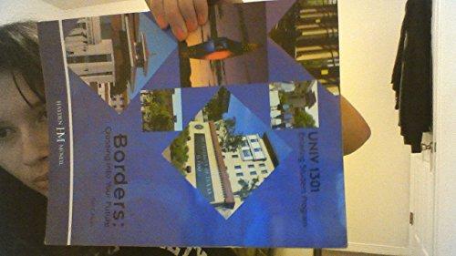 9780738070261: Borders: Crossing Into Your Future(university of Texas At El Paso)
