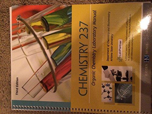 9780738070407: Chemistry 237 Organic Chemistry Lab Manual