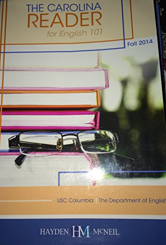 9780738072074: The Carolina Reader: For English 101