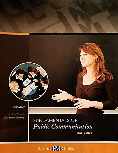 9780738074870: Fundamentals of Public Communication