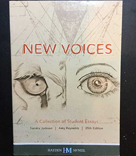 9780738078861: New Voices - A Collection of Student Essays