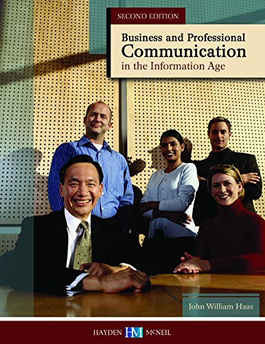 9780738079431: Business and Professional Communication in the Information Age