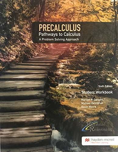 9780738085524: PreCalculus Pathways to Calculus A Problem Solving Approach 6th Edition w/ online access