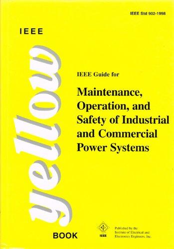 IEEE YELLOW BK- 902 1998 (SH94676): Editors