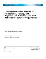 IEEE 450-2010 IEEE Recommended Practice for Maintenance,: Institute of Electrical