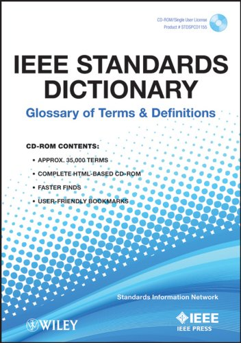 9780738157399: IEEE Standards Dictionary: Glossary of Terms and Definitions