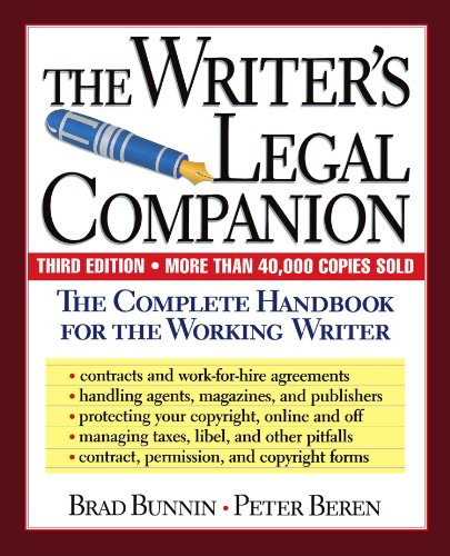 9780738200316: The Writer's Legal Companion: The Complete Handbook For The Working Writer, Third Edition