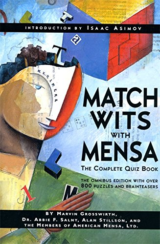9780738202501: Match Wits With Mensa: The Complete Quiz Book