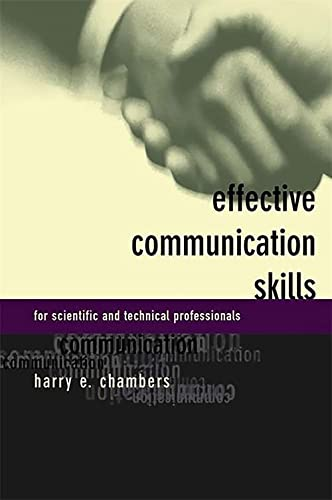 9780738202877: Effective Communication Skills for Scientific and Technical Professionals
