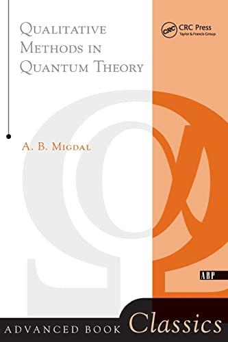 9780738203027: Qualitative Methods in Quantum Theory