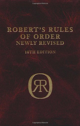 9780738203072: Robert's Rules of Order (Newly Revised, 10th Edition)