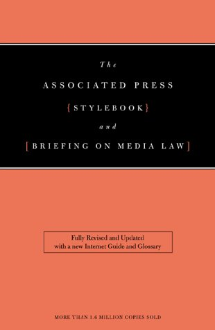 9780738203089: The Associated Press Stylebook and Briefing on Media Law