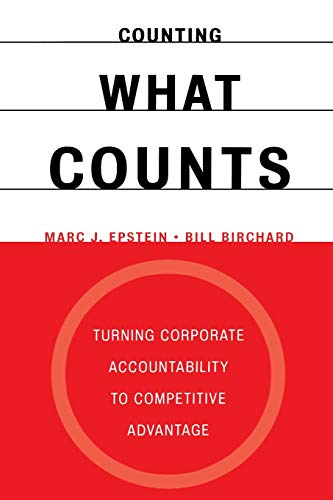 9780738203133: Counting What Counts: Turning Corporate Accountability to Competitive Advantage