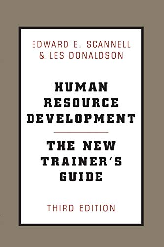 9780738203287: Human Resource Development: The New Trainer's Guide