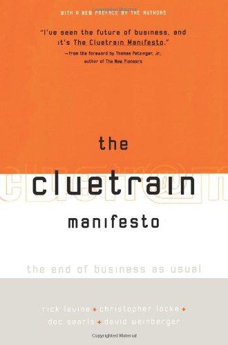 9780738204314: The Cluetrain Manifesto