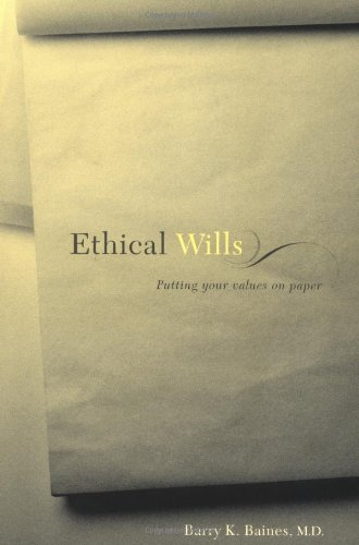 9780738206110: Ethical Wills: Putting Your Values on Paper