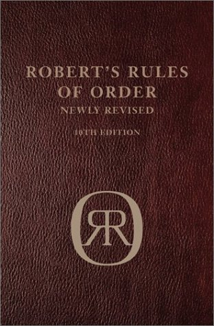 9780738209234: Robert's Rules Of Order 10th Ed Leatherbound Leatherbound