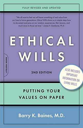 9780738210551: Ethical Wills: Putting Your Values on Paper, 2nd Edition