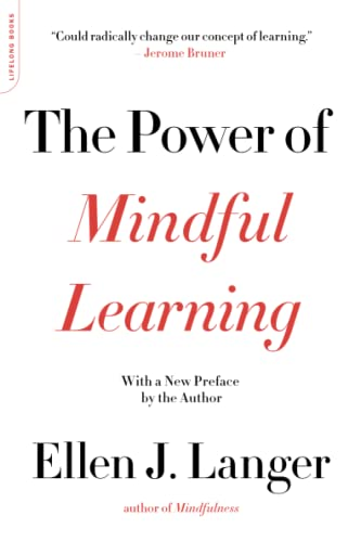 9780738219080: The Power of Mindful Learning (A Merloyd Lawrence Book)