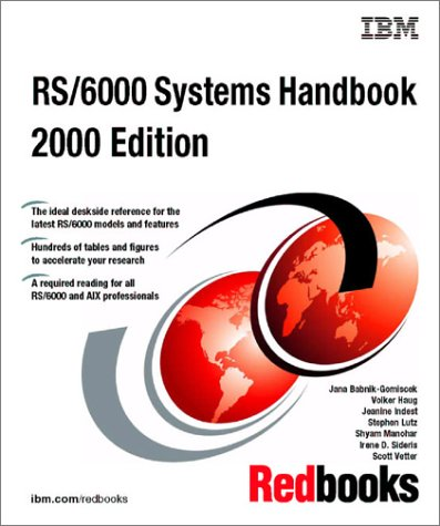 Rs/6000 Systems Handbook 2000: IBM Redbooks